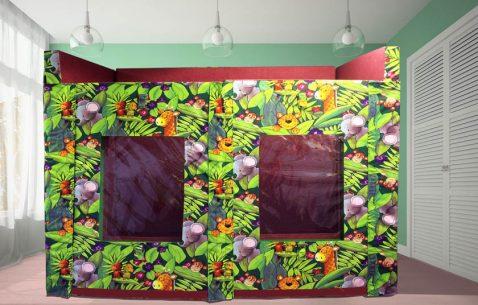 Madagasgar Bearhugzzz in green room small
