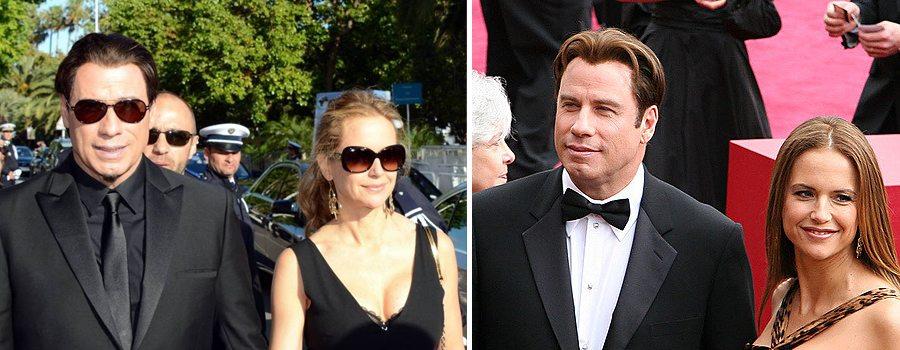 John Travolta and Kelly Preson