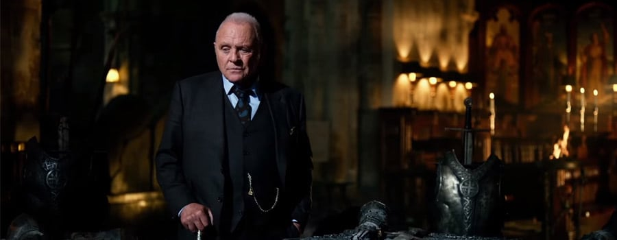 Sir Anthony Hopkins acting