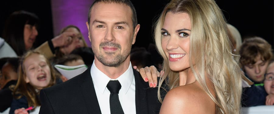 Paddy McGuiness and his wife